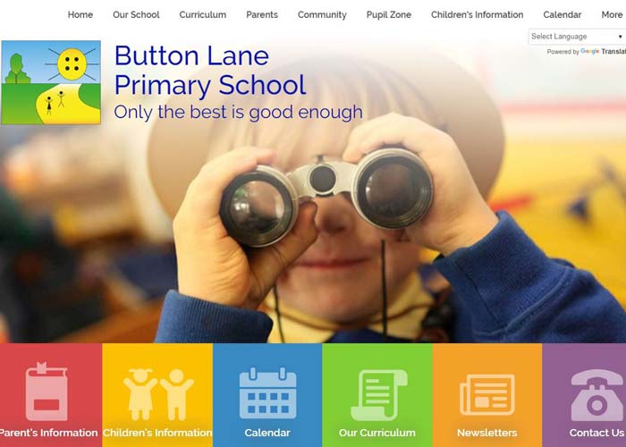 Bytton Lane Primary School Website Design