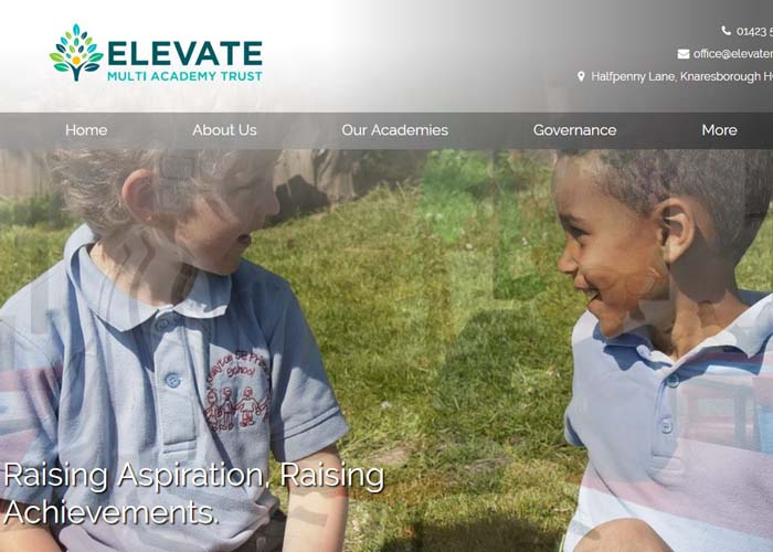 Elevate Multi Academy Trust School Websites