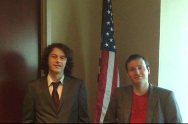 Matthew Coffey and Sean Gilligan