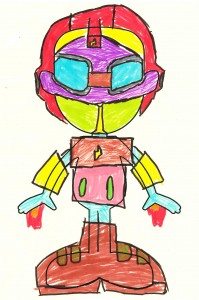 Colourful Robot