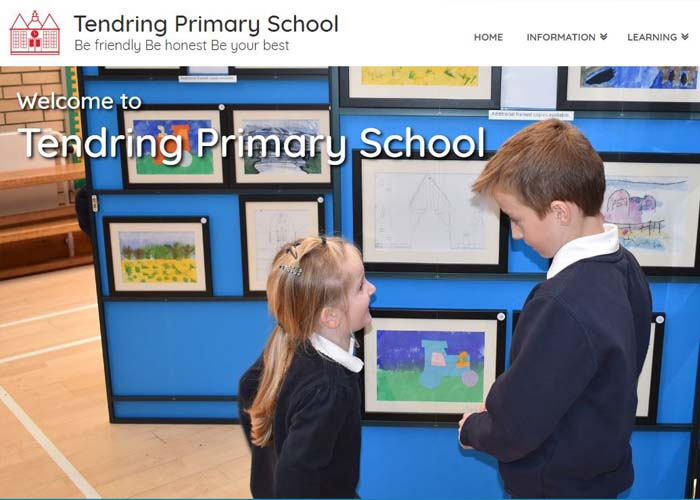 Tendring Primary School Website Design