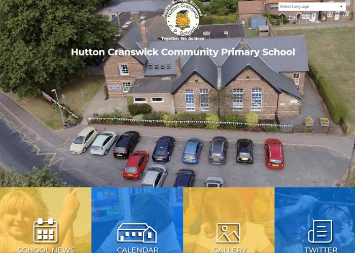 Hutton Primary School Web Design