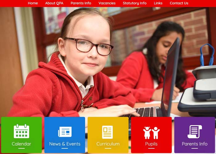 Queens Park Academy School Websites
