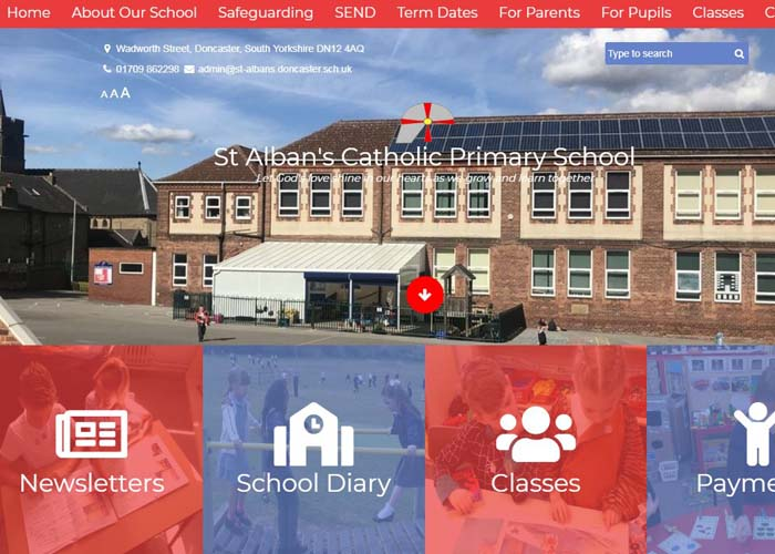 St Alban's School Website