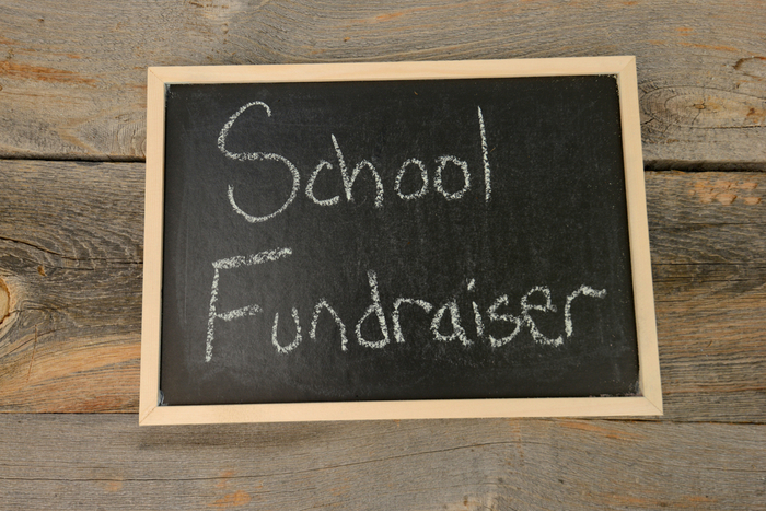fundraise through your school website