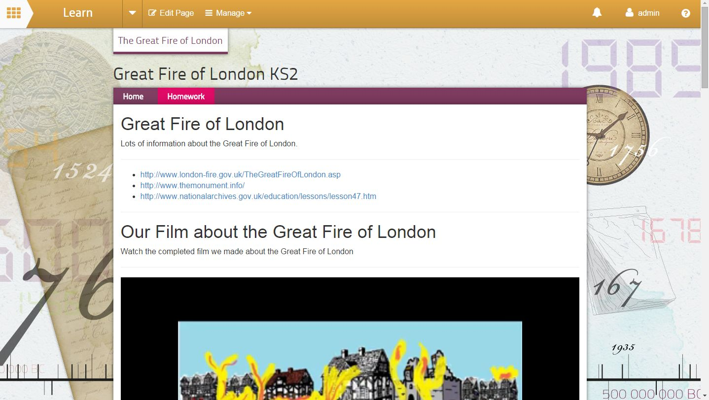 learn great fire of london
