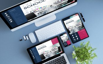 responsive school web design