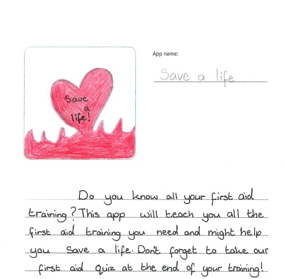 Congratulations to the winning school - 'Think of an App' competition