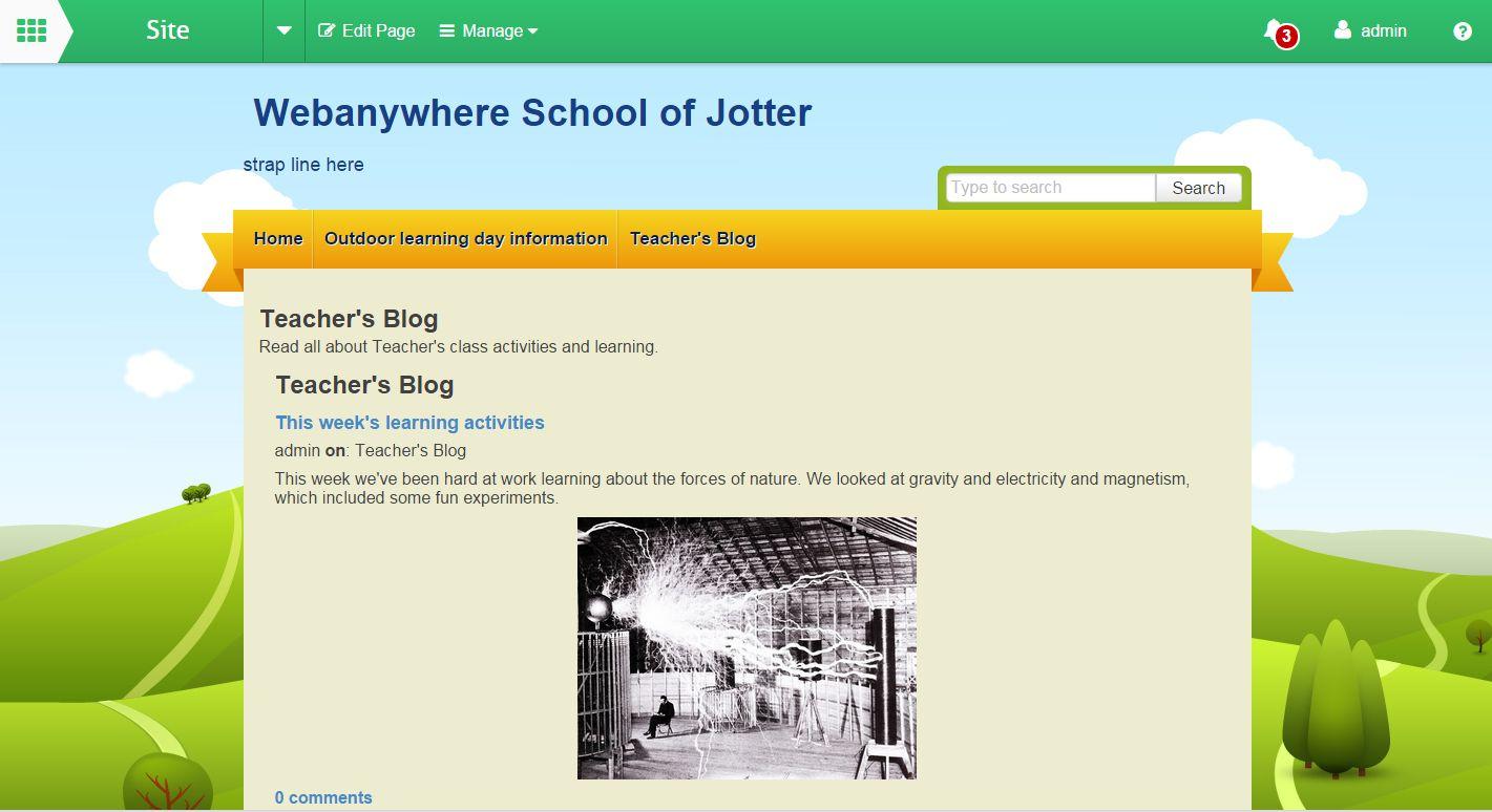 School Jotter Teacher Blog