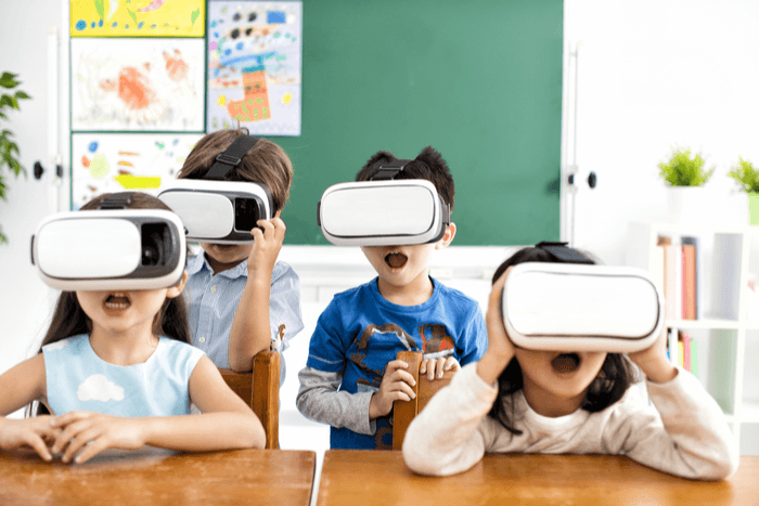virtual reality for school website design