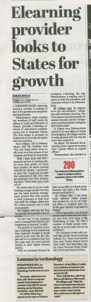Yorkshire Post 18/06/15