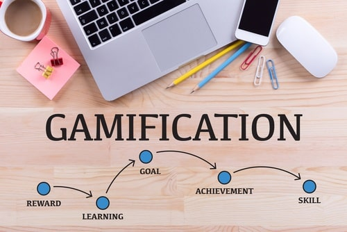 Engaging elearning with gamification features