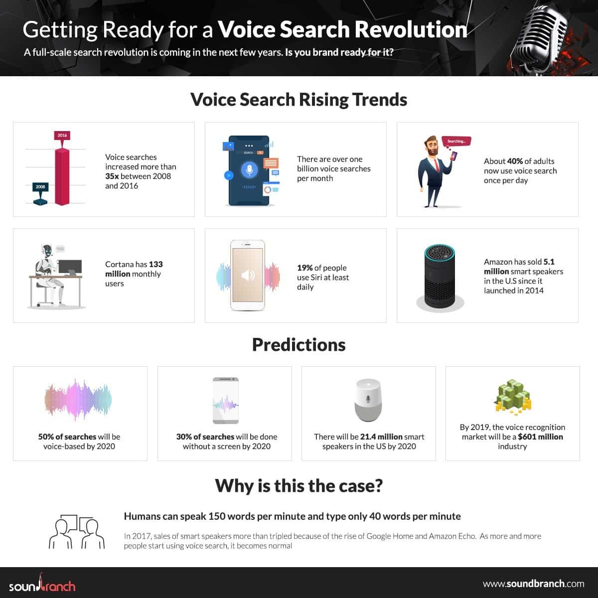 voice search - sound branch