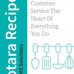 Totara Recipe 14 - Customer Services