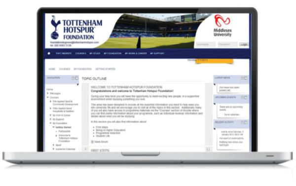 tottenham learning management system