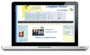 Longdean School Web Design